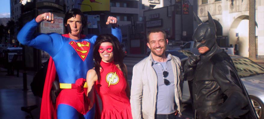 JP et les super-héros